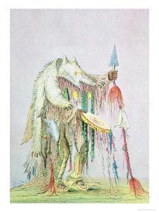 Blackfoot Medicine Man by George Catlin