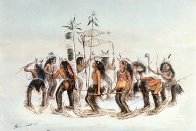 Chippewa Snowshoe Dance, C.1835