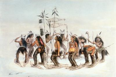 Chippewa Snowshoe Dance, C.1835
