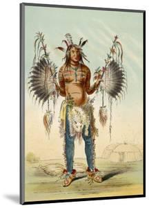 Medicine Man of the Mandan People by George Catlin