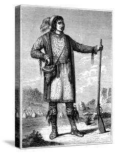 Osceola, Chief of the Seminoles, C1837 by George Catlin