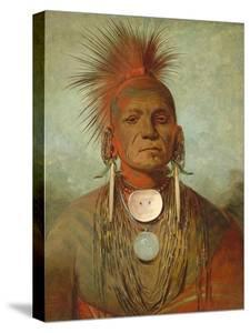 See-Non-Ty-A, an Iowa Medicine Man, 1844-45 by George Catlin