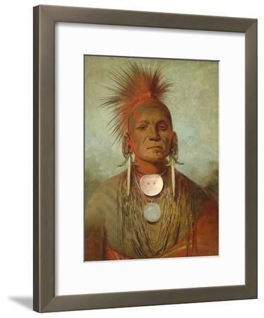 See-Non-Ty-A, an Iowa Medicine Man, 1844-45