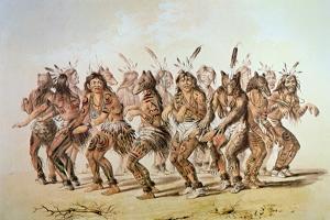 Sioux Bear Dance by George Catlin