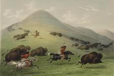 Mato-Tope, Second Chief of the Mandan People in 1833-George Catlin-Giclee Print