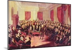 The Virginia Constitutional Convention, 1830 by George Catlin