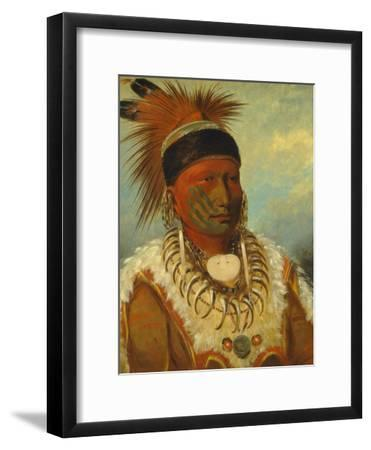 The White Cloud, Head Chief of the Iowas, 1844-45