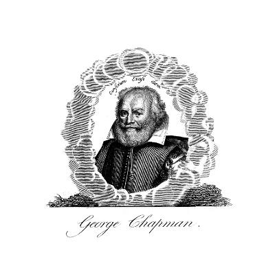 George Chapman, English Dramatist, Translator, Poet and Classical Scholar--Giclee Print