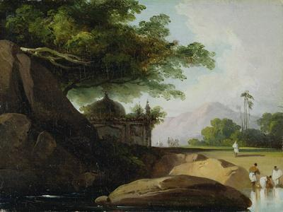 Indian Landscape with Temple, C.1815