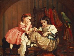 An Enchanting Tale, 1861 by George Cochran Lambdin