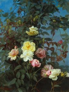 Roses, 1880 by George Cochran Lambdin