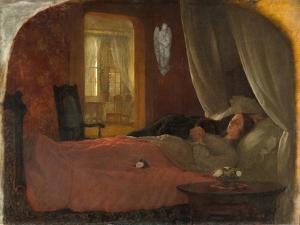 The Last Sleep, c.1858 by George Cochran Lambdin