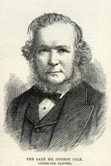 George Cole (1810–83) from 'The Illustrated London News' 29th September, 1883--Giclee Print