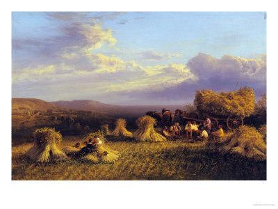 Harvest Scene, 1876