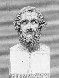 Bust of Homer, Ancient Greek Poet by George Cooke