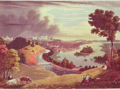 Richmond, Virginia, Engraved by William James Bennett