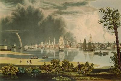 The City of Charleston, Engraved by W.J. Bennett, 1838