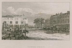 Tottenham High Cross, London by George Cooke