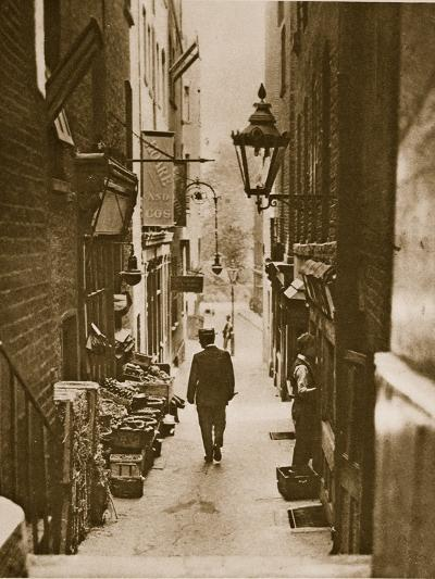 George Court, an Alleyway to the Adelphi from the Strand--Photographic Print