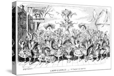 Capricornus - a Caper-O'-Corns, 19th Century