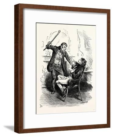 Charles Dickens Sketches by Boz Leave That 'Ere Bell Alone You Wretched Loo-Nattic!