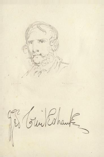 George Cruikshank, English Caricaturist--Giclee Print