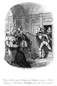 Guy Fawkes and Humphrey Chetham, 1605 by George Cruikshank