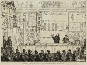 Lecture at the Charterhouse on Stephen Gray's Discoveries in Electricity by George Cruikshank