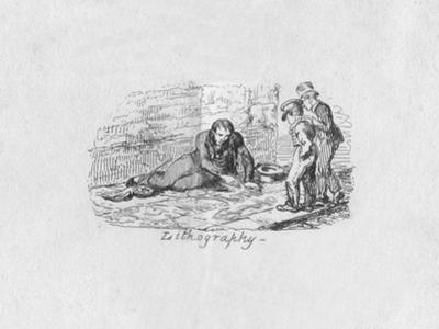 'Lithography', 1829 by George Cruikshank