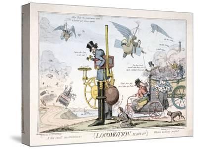 Locomotion, London, C1820