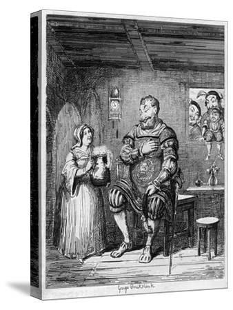 Magog's Courtship, 1840