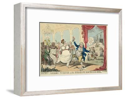 Merry Making on the Regents Birth Day, 1812, 1812