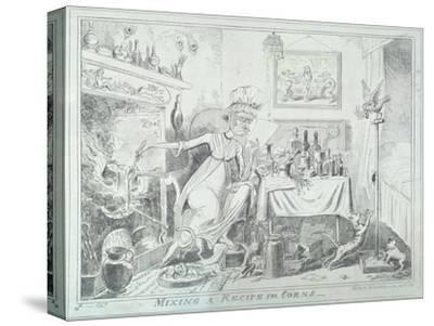 Mixing a Recipe for Corns, 1835