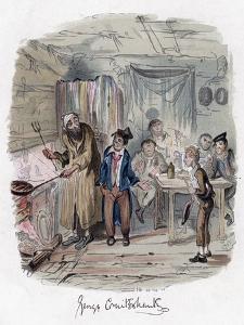 Oliver Twist, C1838 by George Cruikshank