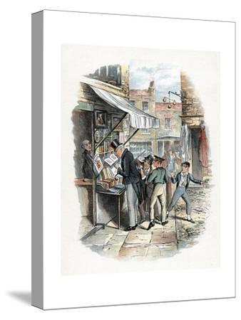 Scene from Oliver Twist by Charles Dickens, 1837-1839
