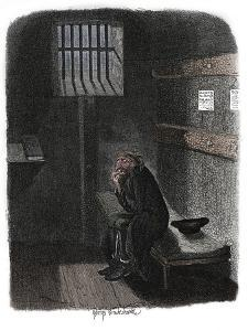 Scene from Oliver Twist by Charles Dickens, 1837 by George Cruikshank