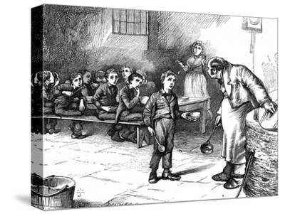 Scene from Oliver Twist by Charles Dickens, 1871