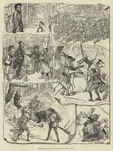 Scenes from the Pantomimes by George Cruikshank