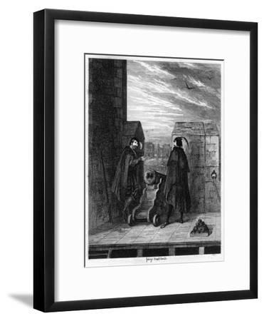 Simon Renard and Winwike the Warden on the Roof of the White Tower, 1553