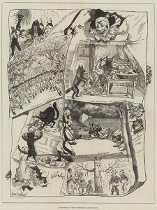 Sketches of the Christmas Pantomimes by George Cruikshank
