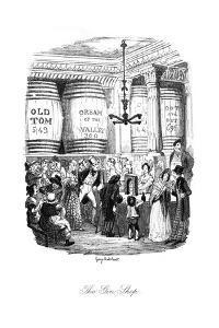 Social, Gin Shop 1836 by George Cruikshank