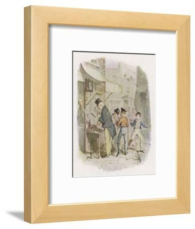 The Artful Dodger Teaches Oliver Twist to Pickpocket from the Rich
