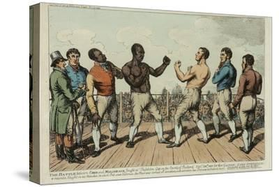The Battle Between Cribb and Molineaux