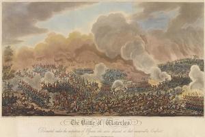 The Battle of Waterloo by George Cruikshank