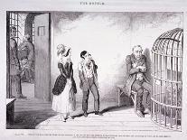 Social, Gin Shop 1836-George Cruikshank-Giclee Print