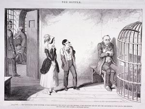 The Bottle, 1847 by George Cruikshank