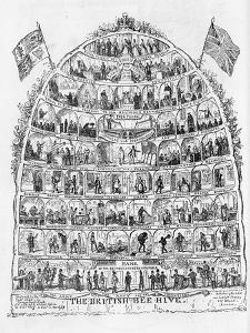 The British Beehive, 1867 by George Cruikshank