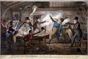 The Cato Street Conspirators..., 1820 by George Cruikshank