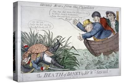 The Death of Boney by Sir Wm Biscuit!, 1809