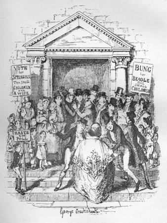 The Election for Beadle, C1900 by George Cruikshank